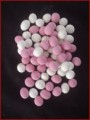 Pink & White Peanuts